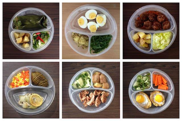Chia thức ăn thành nhiều bữa nhỏ trong ngày