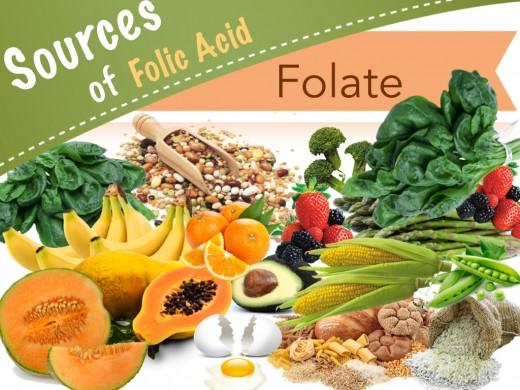 Nhóm chất Folate tốt cho người bị viêm loét dạ dày