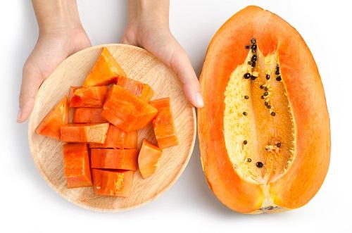 Đu đủ được thêm vào chế độ ăn của người đau dạ dày