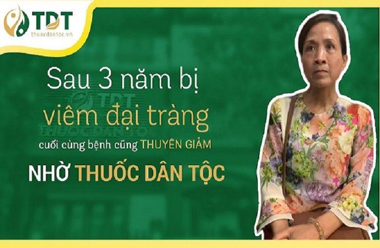 Cô Kim Vân đã khỏi bệnh dạ dày sau 3 tháng dùng Tiêu thực Phục tràng hoàn