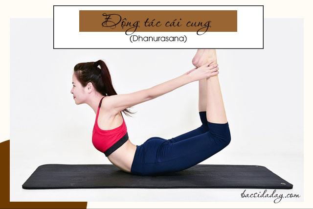 chữa đau dạ dày bằng bài tập yoga