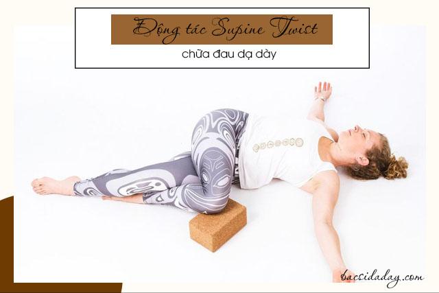 tư thế yoga tốt cho người đau dạ dày