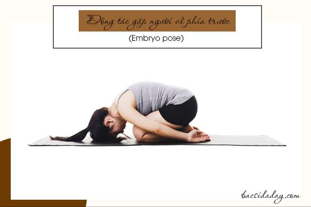 động tác yoga nào tốt cho người đau dạ dày