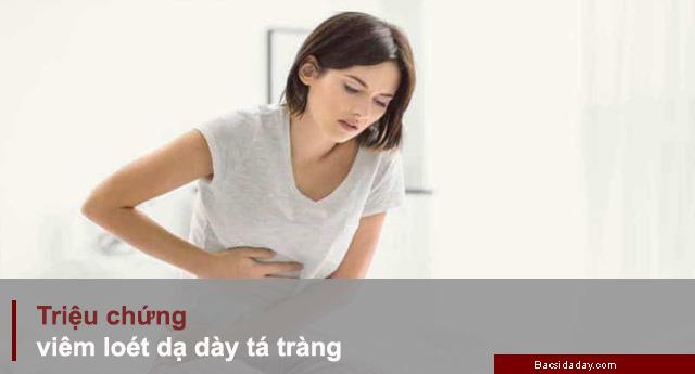 triệu chứng viêm loét dạ dày