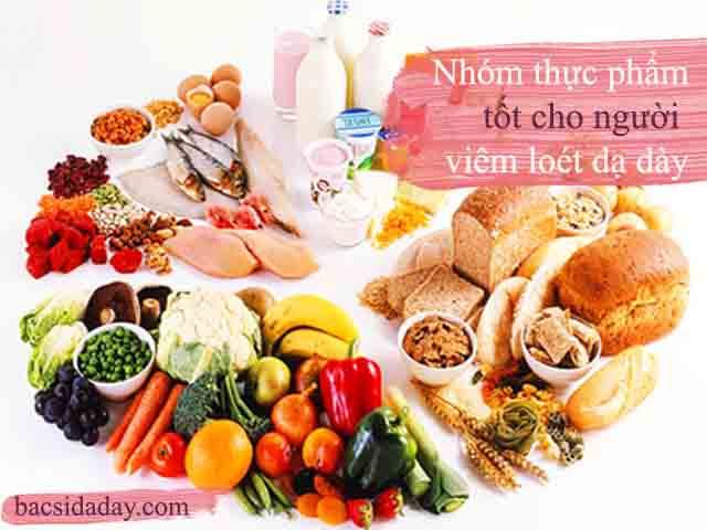 viêm loét dạ dày thì nên ăn gì
