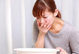Nôn, buồn nôn - Biểu hiện đau dạ dày