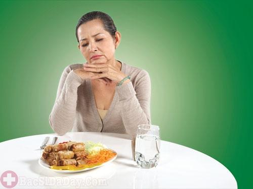 Chán ăn dấu hiệu bệnh đau dạ dày
