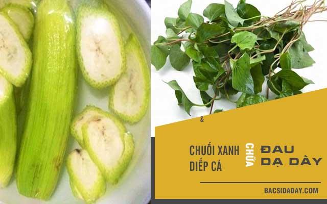ăn chuối xanh chữa đau dạ dày