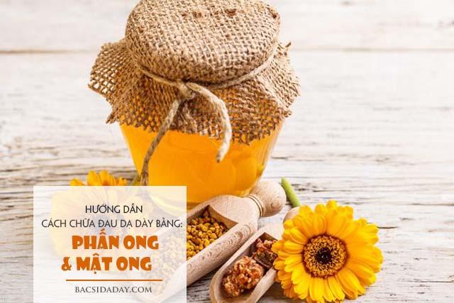trị đau dạ dày bằng phấn ong