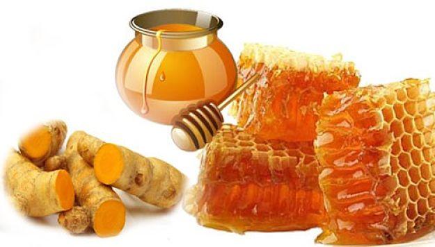 Chữa đau dạ dày bằng nghệ và mật ong