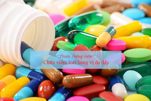 Thuốc chống viêm chữa viêm loét hang vị dạ dày