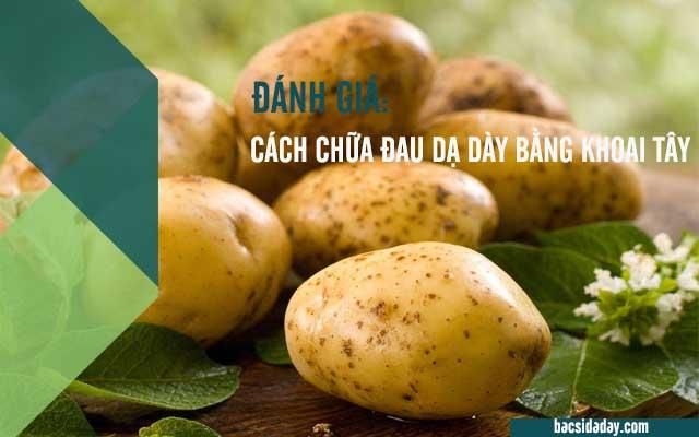 khoai tây trị bệnh đau dạ dày