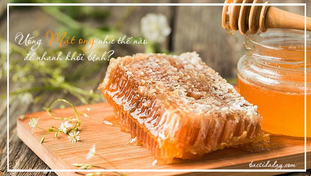 cách chữa đau dạ dày bằng mật ong