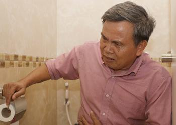 Rối loạn tiêu hóa thường biểu hiện bằng chứng đau bụng dưới bên trái