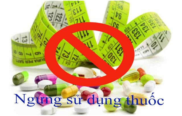 Ngưng sử dụng thuốc trước khi làm xét nghiệm
