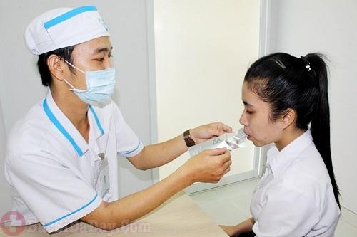 Test thở Uretìm vi khuẩn Hp