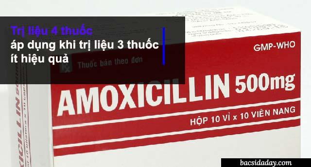 Phác đồ điều trị Hp 4 thuốc