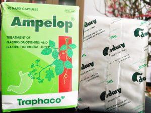 Thuốc chữa bệnh dạ dày Ampelop có tốt không?