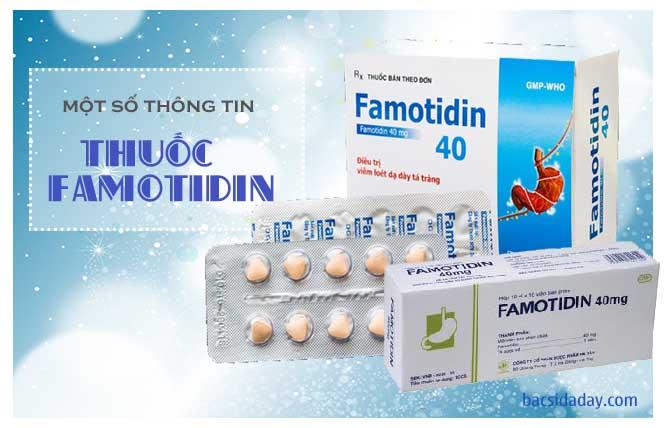 thuốc chống viêm loét dạ dày Famotidin