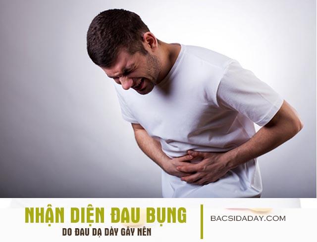 đau bụng do bệnh đau dạ dày