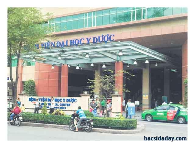 xét nghiệm vi khuẩn Hp tại bệnh viện đại học y dược TPHCM