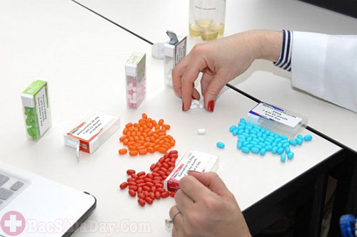 Phân liều dùng thuốc cimetidin trị viêm loét dạ dày