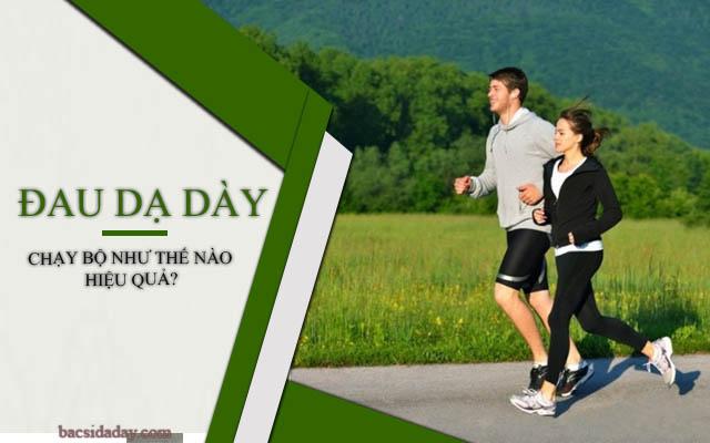 bị đau dạ dày có nên chạy bộ
