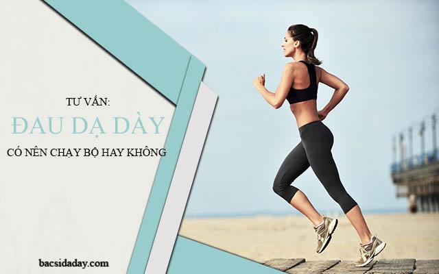 chạy bộ khi bị đau dạ dày