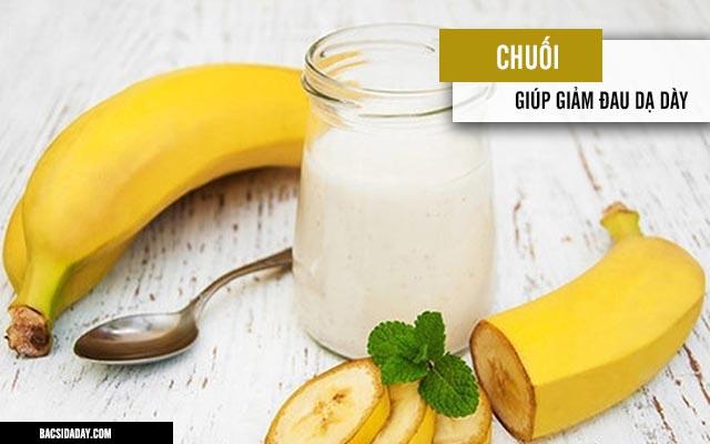 món ăn giảm đau dạ dày