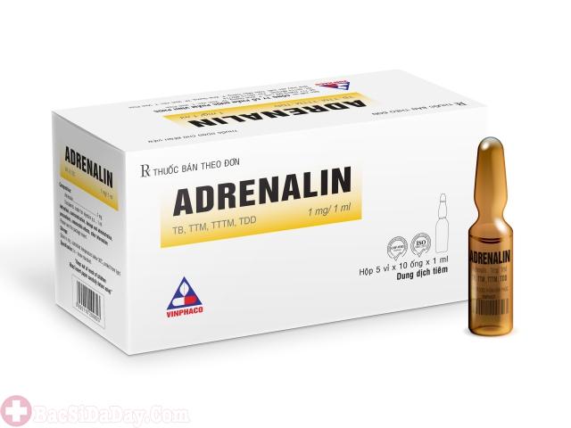 Thuốc Adrenalin cầm máu xuất huyết dạ dày