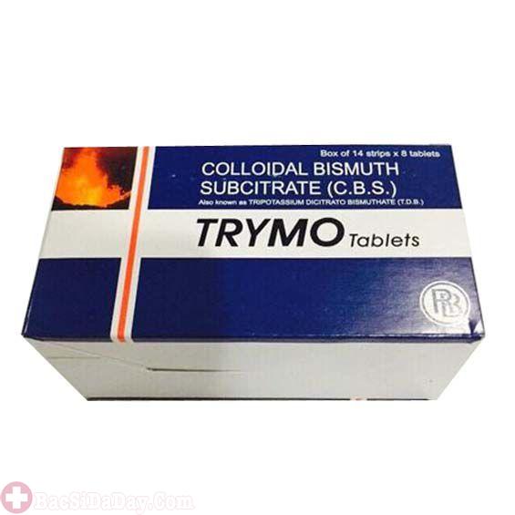 Thuốc Trymo trị bệnh viêm loét dạ dày