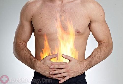 Nóng rát ở dạ dày