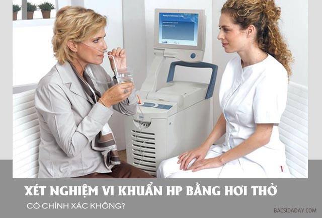 Xét nghiệm vi khuẩn Hp bằng hơi thở