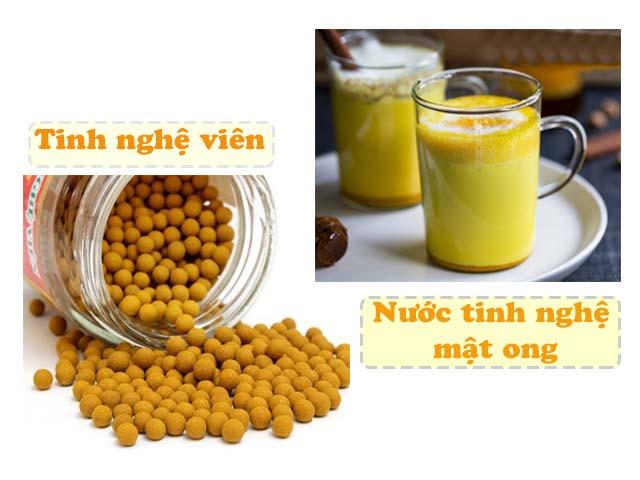 trị viêm loét dạ dày bằng nghệ và mật ong