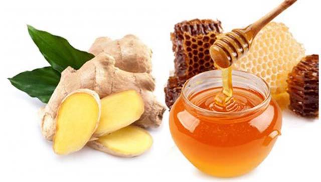 Gừng ngâm mật ong chữa trào ngược dạ dày