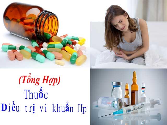 Loại thuốc điều trị vi khuẩn Hp
