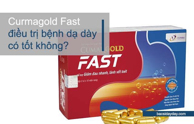 CumarGold Fast điều trị bệnh dạ dày có tốt không