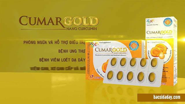 Công dụng CumarGold Nano Curcumin