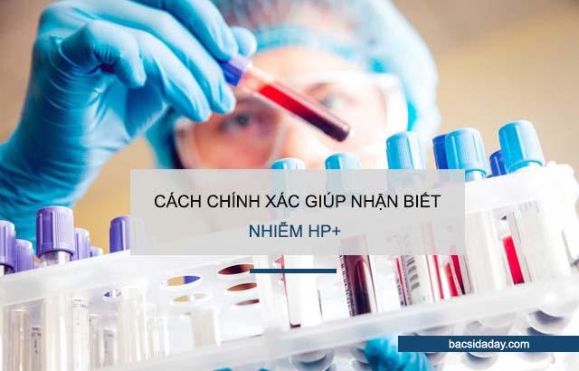 nhiễm vi khuẩn hp+
