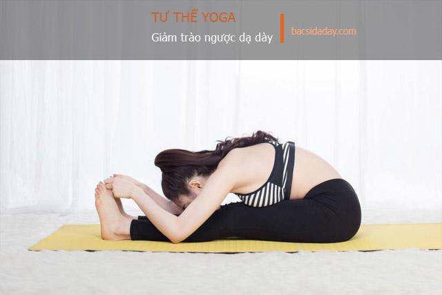 cách tập yoga chữa trào ngược dạ dày