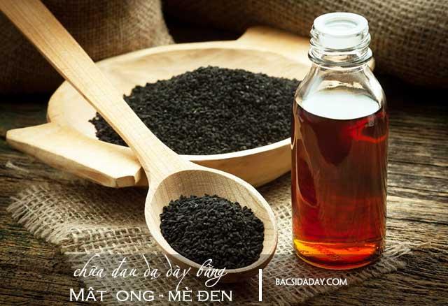 chữa đau dạ dày bằng mật vong mè đen