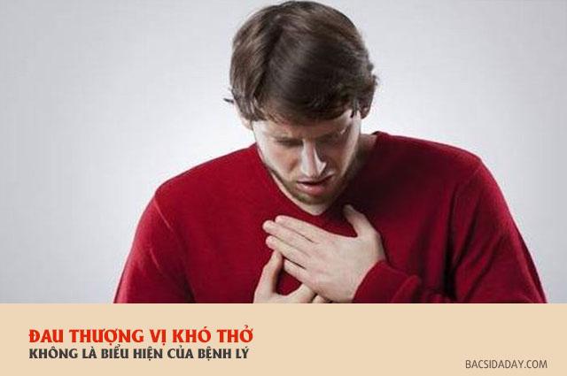 đau thượng vị khó thở là bệnh gì