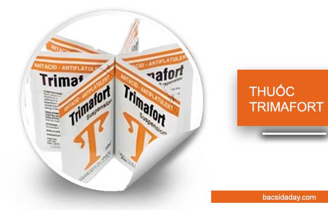 Thuốc Trimafort chữa đau dạ dày