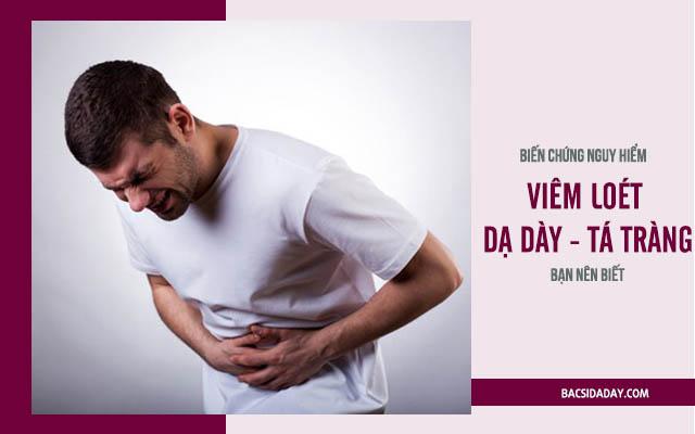 biến chứng của bệnh viêm loét dạ dày tá tràng