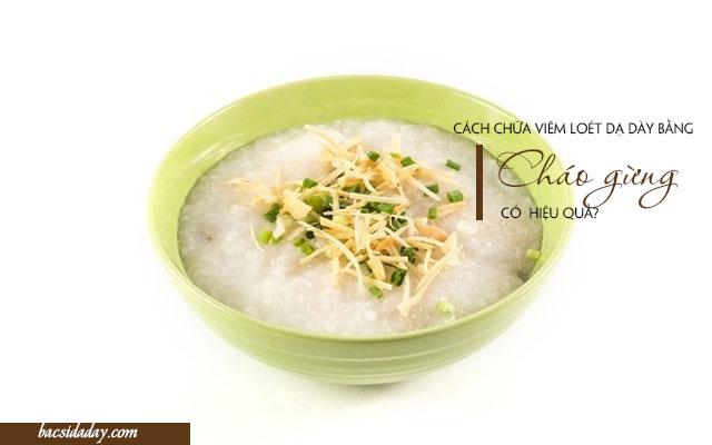 gạo nếp trị bệnh viêm loét dạ dày