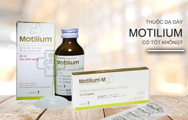 thuốc motilium gây đột tử