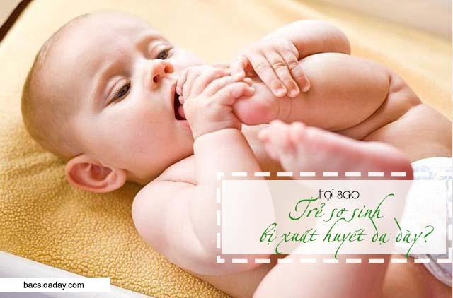 bệnh xuất huyết dạ dày ở trẻ sơ sinh