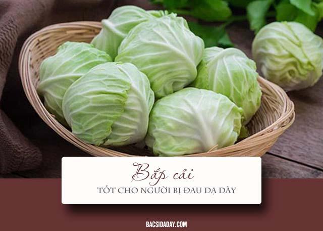 bệnh đau dạ dày nên ăn rau gì