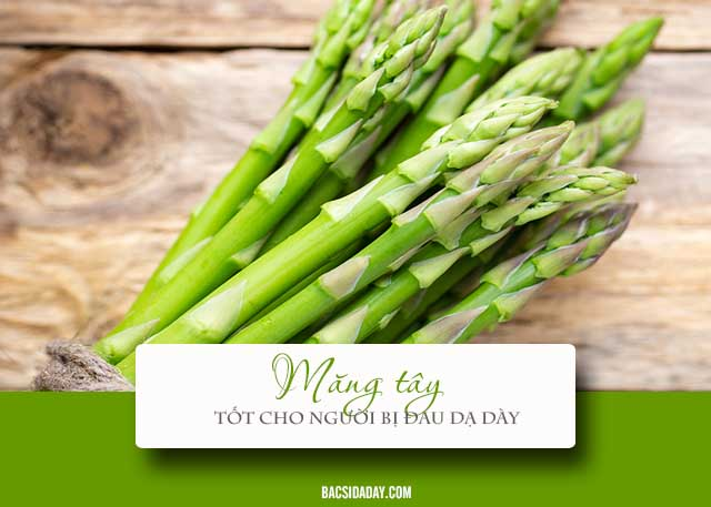 đau dạ dày ăn rau gì tốt