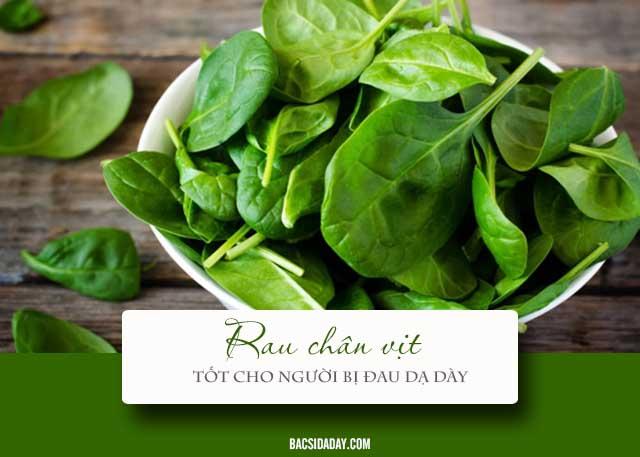 rau gì tốt cho người bị đau dạ dày